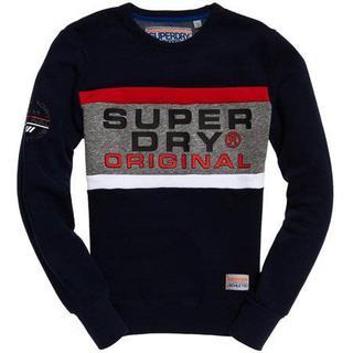 Superdry Trophy Sweatshirt - Trophy Navy