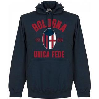 Retake Bologna FC 1909 Established Hoodie - Navy - XL