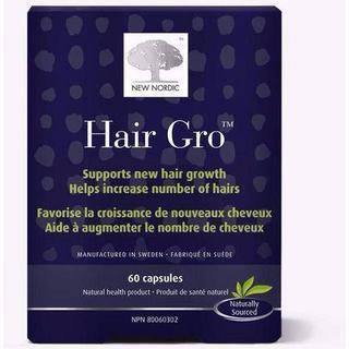 New Nordic Hair Gro 60 st
