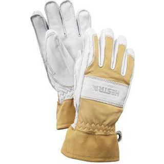 Hestra Fält Guide Glove Unisex - Natural Yellow/Offwhite