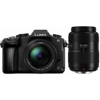 Panasonic Lumix DMC-G80 + 12-60mm OIS + 45-200mm OIS