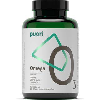 Puori O3 Omega-3 2000 mg 120 kapslar 120 st