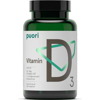 Puori D3 D-vitamin 2500 IE 120 st