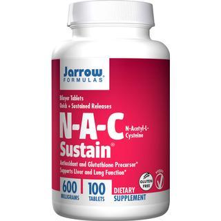 Jarrow Formulas N-A-C N-Acetyl-L-Cysteine 100 st