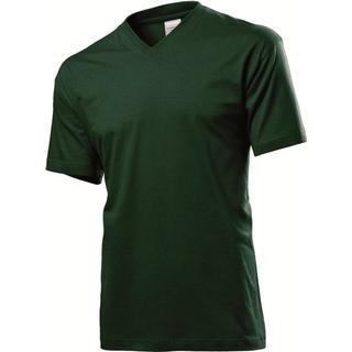 Stedman Classic V-Neck T-shirt - Bottle Green