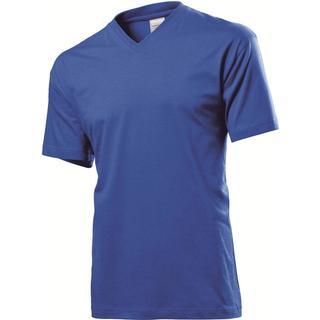Stedman Classic V-Neck T-shirt - Bright Royal