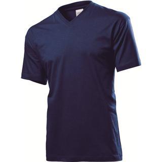 Stedman Classic V-Neck T-shirt - Navy Blue
