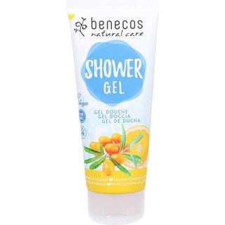 Benecos Natural Shower Gel Sea Buckthorn & Orange 200ml