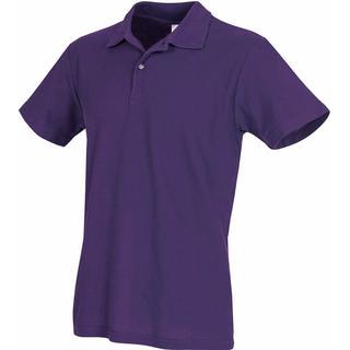 Stedman Short Sleeve Polo Shirt - Deep Berry