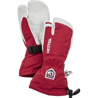 Hestra Army Leather Heli Ski 3 Finger Junior