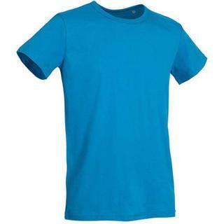 Stedman Ben Crew Neck T-shirt - Hawaii Blue