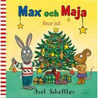 Max och Maja firar jul (Inbunden)