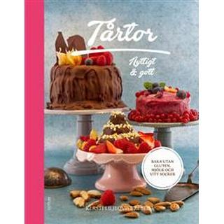 Tårtor: nyttigt & gott - baka utan gluten, mjölk och vitt socker (Inbunden)