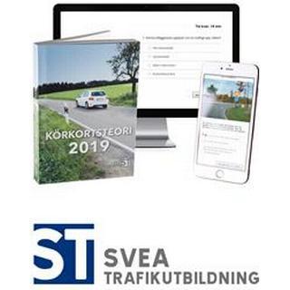 Körkort 2019: Teoripaket med senaste körkortsboken körkortsteori, körkortsfrågor online & videolektioner (Häftad)