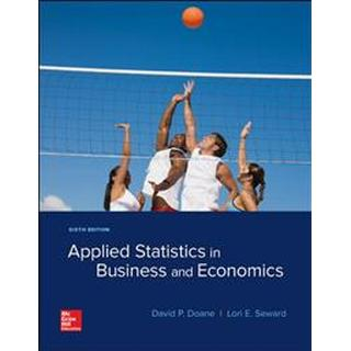 Applied Statistics in Business and Economics (Häftad, 2018)