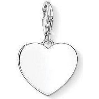 Pandora Heart Silver Charm Pendant (1634-001-21)
