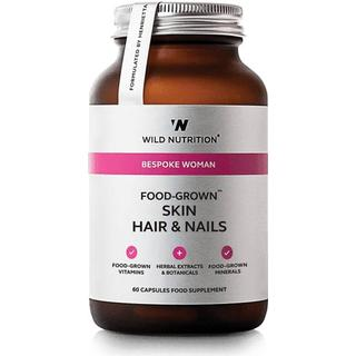 Wild Nutrition Food-Grown Skin Hair & Nails 60 st