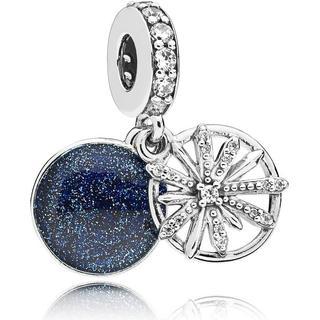 Pandora Dazzling Wishes Silver Pendant Charm w. Cubic Zirconia (797531CZ)