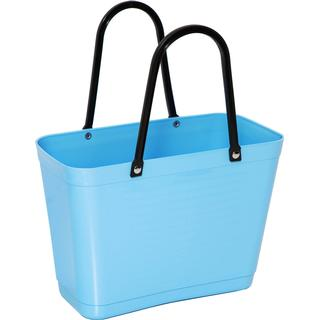 Hinza Shopping Bag Small (Green Plastic) - Light Blue