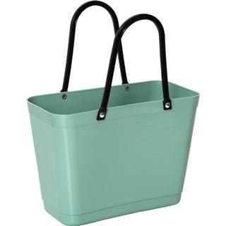 Hinza Shopping Bag Small (Green Plastic) - Olive