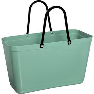 Hinza Shopping Bag Large (Green Plastic) - Olive