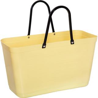 Hinza Shopping Bag Large (Green Plastic) - Lemon