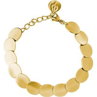 Edblad Pebble Stainless Steel Gold Plated Bracelet (105830)