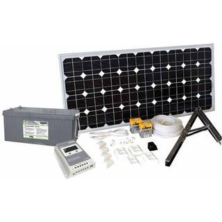 Sunwind Solpanelspaket Basic 4 135W