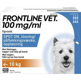 Frontline Vet Spot-On 6x0.67ml