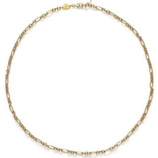 Anni Lu Lynx Sterling Silver Gold Plated Necklace