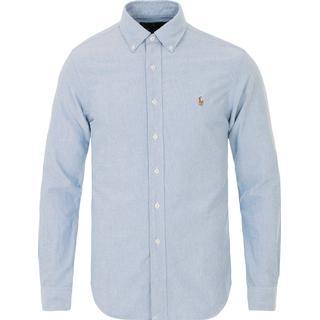 Polo Ralph Lauren Slim Fit Oxford Shirt - Bsr Blue
