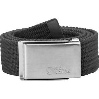 Fjällräven Merano Canvas Belt Unisex - Dark Grey