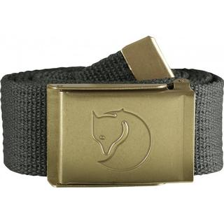 Fjällräven Canvas Brass Belt Unisex - Mountain Grey
