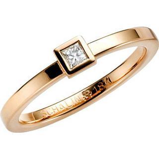 Schalins Norrsken Skina Gold Ring w. Diamond