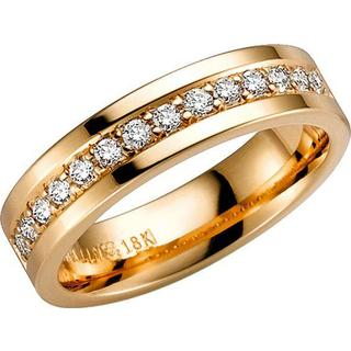 Schalins Norrsken Nimbus Gold Ring w. Diamond