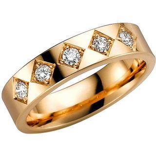 Schalins Norrsken Flame Gold Ring w. Diamond