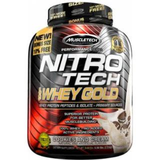 Muscletech Nitro-Tech 100% Whey Gold Cookies And Cream 2.5kg