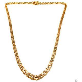 Guld Sverige Bismarck Gold Necklace