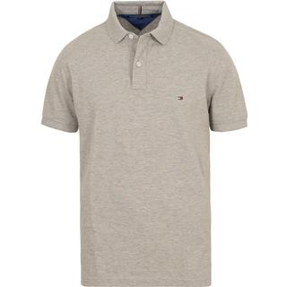 Tommy Hilfiger Regular Fit Cotton Polo Shirt - Cloud Htr