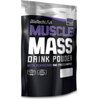 BioTechUSA Muscle Mass Strawberry 1kg