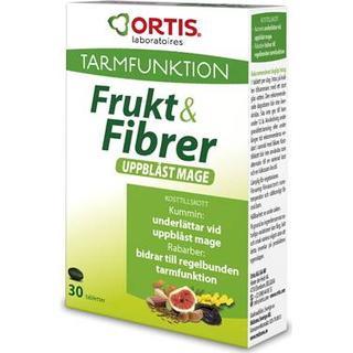 Ortis Fruit & Fiber Uppblast Mage 30 st