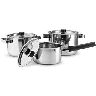Eva Solo Nordic Kitchen Set Kastruller med lock 6 delar