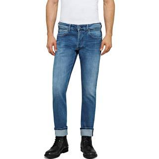 Replay Straight Fit Grover Jeans - Light Blue
