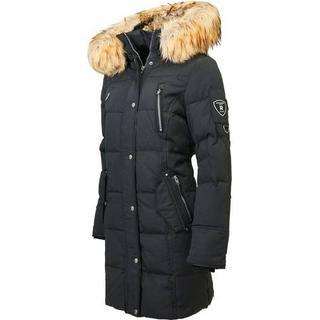 RockandBlue Arctica Down Jacket - Black/Natural (Faux Fur)