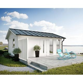 Jabo Flex 25m² (Byggnadsarea 25 m²), Grundsats