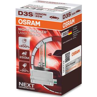 Osram D3S Night Breaker Laser Xenarc Xenon Lamps 35W PK32d-5
