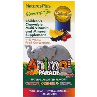 Nature's Plus Animal Parade Multivitamin 180 st