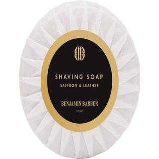 Benjamin Barber Shaving Soap Saffron & Leather 100g