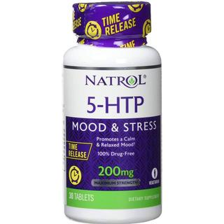 Natrol 5-HTP Time Release 200mg 30 st
