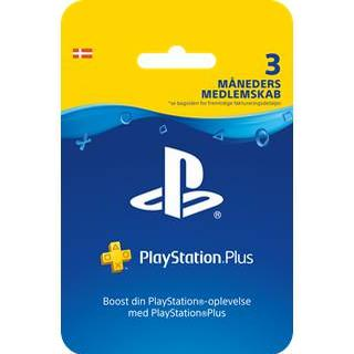 Sony PS4 PSN Plus Card - 3 Month